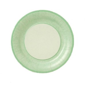 Lenox Marble Paper Plates, Soft Green, 10-1/2-Inch, Pack of 8 [並行輸入品]