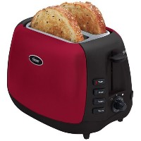 Oster 6595 Inspire 2-Slice Toaster, Red/Black [並行輸入品]