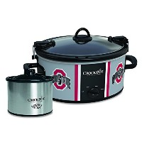 Ohio State Buckeyes Collegiate Crock-Pot Cook & Carry Slow Cooker with Bonus 16-ounce Little Dipper...