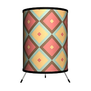 Lamp-In-A-Box TRI-DEC-PT052 D?cor Art - Pattern 052 Tripod Lamp [並行輸入品]