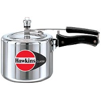 HAWKIN?Classic CL3T 3-Liter New Improved Aluminum Pressure Cooker, Small, Silver [並行輸入品]