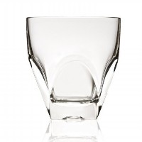 Diamonte Collection Double Old Fashion Drinking Glass By RCR Italy [並行輸入品]