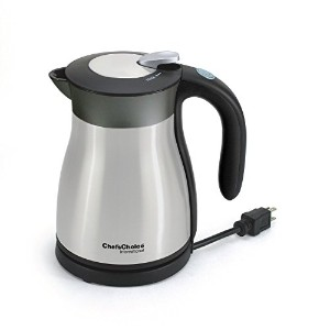 Chef's Choice 691 International Keep Hot Thermal Electric Kettle, 1.2 L, Stainless Steel [並行輸入品]