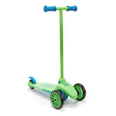 Lean To Turn Scooter- Green/ Blue [並行輸入品]