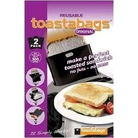 Reusable Premium No Mess Grilled Cheese Toaster Bags 2 in Pack [並行輸入品]