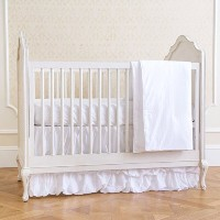 Summer Infant 4-Piece Classic Bedding Set with Adjustable Crib Skirt, Swiss Dot by Summer Infant ...