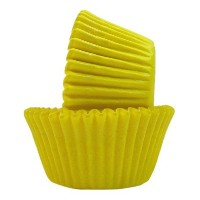 Regency Wraps Greaseproof Baking Cups, Solid Yellow, 40-Count, Standard. [並行輸入品]