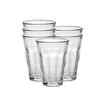 Duralex Picardie 12 oz. Clear Tumbler, Set of 6 [並行輸入品]