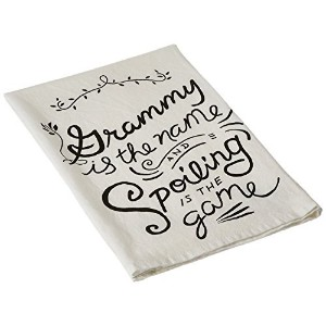 Primitives by Kathy Grammy Tea Towel, 28-Inch by 28-Inch [並行輸入品]