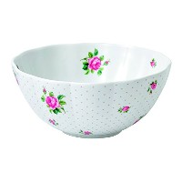 High Quality New Country Roses Baking Bliss Mixing Bowl, 3-Quart, White