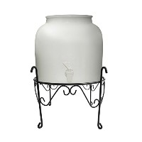 New Wave Enviro Products Porcelain Water Dispenser with Stand, White [並行輸入品]