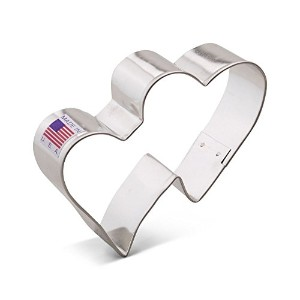 The American Cookie Cutter Company Double Hearts Cookie Cutter [並行輸入品]
