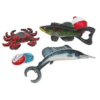 Design Toscano Gifts of the Set Bottle Openers: Set of Three [並行輸入品]