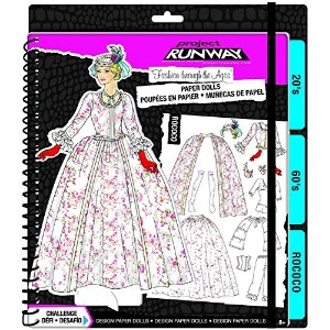 Project Runway 'Fashion Through the Ages' Paper Dolls Kit [並行輸入品]