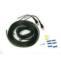 Blue Ox LED Tail Light Wiring Kit with Red Bulb [並行輸入品]