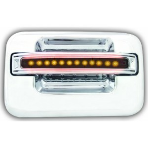 IPCW FLA04SR Chrome with Amber LED and Smoke Lens Rear Door Handle - Pair [並行輸入品]
