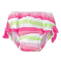 iplay アイプレイ スイムパンツ Classic Bow Swimsuit Bottom w/Built in Reusable Absorbent Swim Diaper 【 711183...
