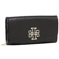 (トリーバーチ) TORY BURCH トリーバーチ 財布 TORY BURCH 31159054 001 BRITTEN DUO ENVELOPE CONTINENTAL WALLET ブラック...