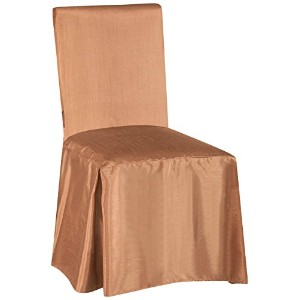 SALLY TEXTILES Jenny Chair Cover, Taupe by SALLY TEXTILES INC
