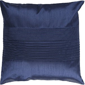 Surya Rug HH029-1818D Square Cobalt Decorative Down Feather Pillow 18 x 18 in.