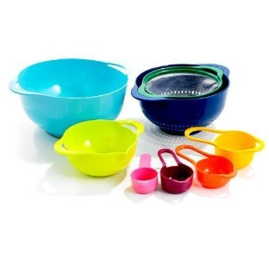 GHP Gourmet Home Products 8 Piece Food Preparation Nesting Set Multi-color [並行輸入品]