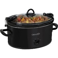 Crock Pot SCCPVL600-B 6 Quart Cook and Carry Slow Cooker, Black [並行輸入品]