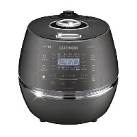 CUCKOO CRP-DHR0610FD 6 Cups Smart IH Pressure Rice Cooker Touch Button English Voice Guidance 220V ...