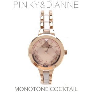 Pinky&Daienne ピンキー&ダイアン レディース MONOTONE COCKTAIL モノトーンカクテル 時計 PD005PPK