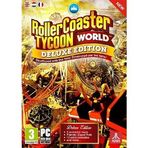 Rollercoaster Tycoon World Deluxe Edition (PC DVD) (輸入版)
