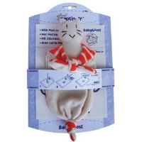 Organic Cat Rattle Squeaky by Keptin Jr