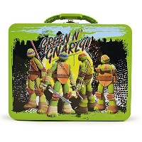 TMNT Tin Lunch Box - Green N' Gnarly!