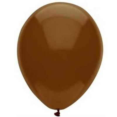30cm Chestnut Brown Latex Balloons 72CT