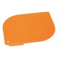 Charles Viancin Honeycomb Pot Holder - Orange by Charles Viancin