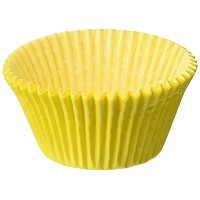 Oasis Supply Baking Cups, Jumbo, 100-Count, Yellow by Oasis Supply