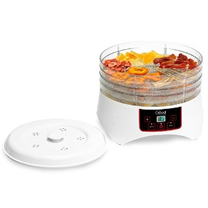 Dehydrator - Electric Professional Grade Food Dehydrator with Four Trays By Good Cooking - Dries 30...