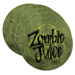 Epic Products Zombie Juice Coasters ( Set of 10 )、マルチカラー