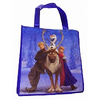 Disney Frozen Movie Character Tote Bags (Kristoff and Anna) by Disney