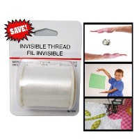 Invisible Thread Magic New Floating Trick Clear Sewing 219 Yards Nylon Magicians by AllTopBargains