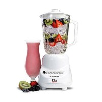 MaxiMatic EBL-2000GW Americana by Elite 10-Speed Blender with Glass Jar, 48-Ounce, White [並行輸入品]