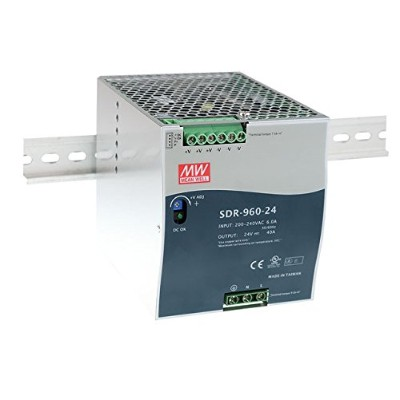 Taiwan MeanWell SDR-960-24 960W Single Output Industrial DIN RAIL with PFC Function Meanwell SDR...