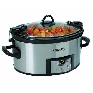 Crock-Pot SCCPVL610-S Programmable Cook and Carry Oval Slow Cooker [並行輸入品]