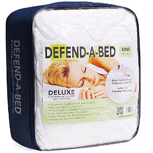High Quality Defend-A-Bed Deluxe Quilted Waterproof Mattress Protector, Full