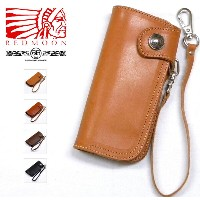 REDMOON/RRC Leather Long Wallet [RRC-CW-02C] レッドムーン/ダブルアールシー コンチョ付き本革長財布 サイフ ウォレットチェーン付属