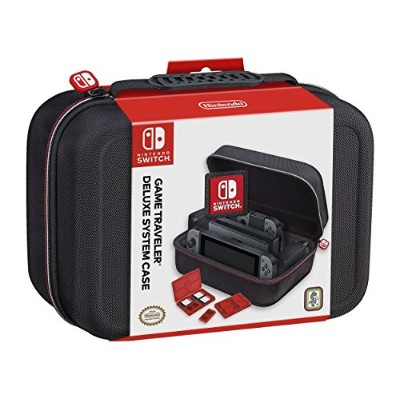 RDS Industries, Inc Nintendo Switch Game Traveler Deluxe System Case - Imported
