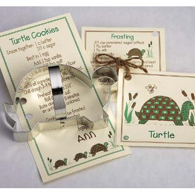 Turtle Cookie and Fondant Cutter - Ann Clark - 5.3 Inches - US Tin Plated Steel by Ann Clark Cookie...