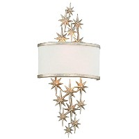 Corbett 28574299 Two Light Silver Wall Light by Corbett