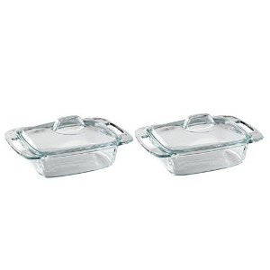 Pyrex Easy Grab 2 quart casserole with glass cover by Pyrex