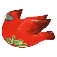 3d Cardinal Candy Dish by Certified International