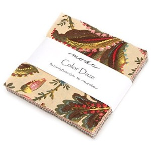 Color Daze Charm Pack By Laundry Basket Quilts; 42 - 5 Precut Fabric Quilt Squares by moda