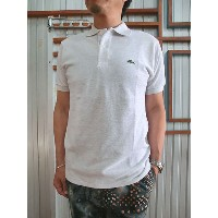 LACOSTE(ラコステ) フランスラコステ【SALE】FRANCE LACOSTE L1264 PIQUE POLO HEATHER ヘザー半袖ポロシャツ Alpes Chine 送料無料